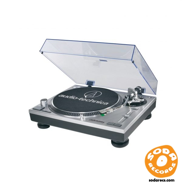Audio-Technica AT-LP120-USB Record Turntable - USB - Silver
