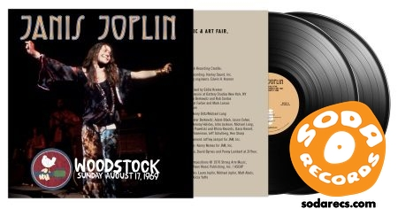 Janis Joplin Woodstock Sunday August 17, 1969